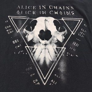 Alice In Chains 2014 Tour 2X Black t-shirt Concert